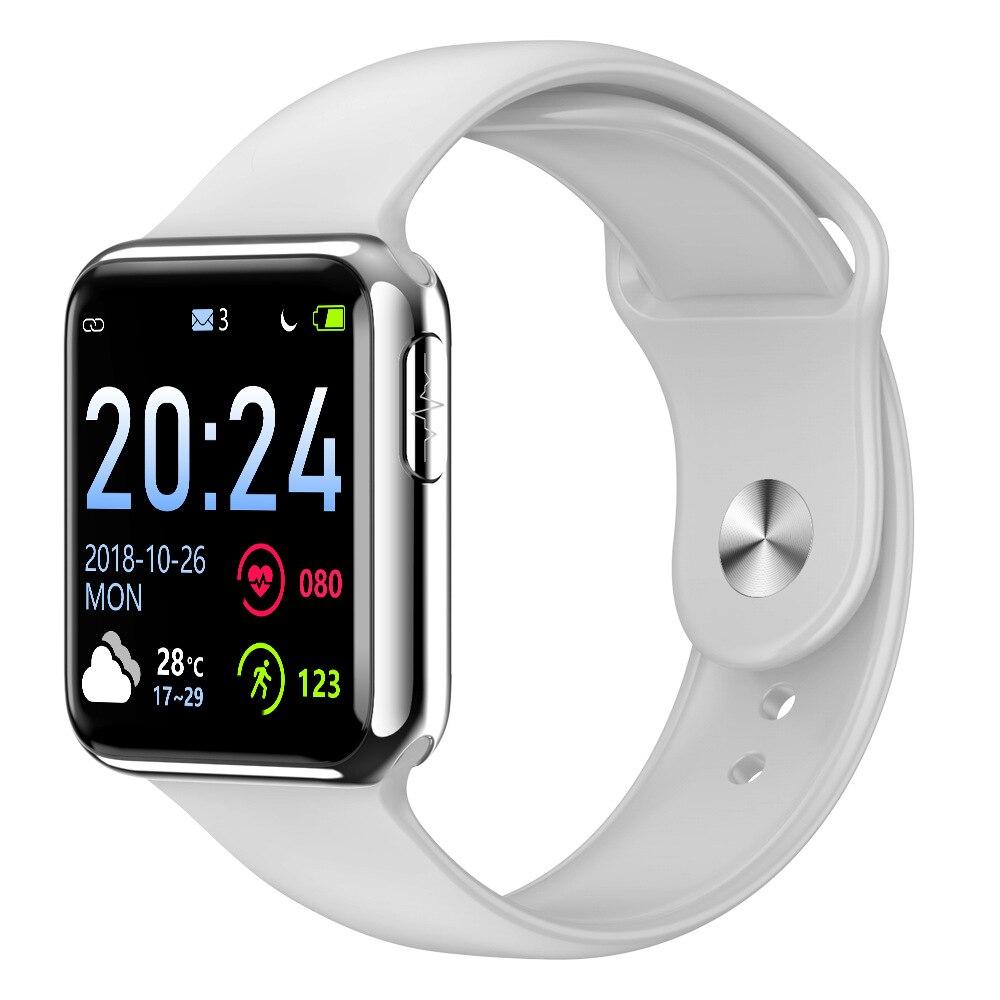 V5 montre intelligente Sport montre Fitness Tracker tension artérielle fréquence cardiaque pour xiomi IOS Android étanche montre intelligente PK Q8 F3 bande