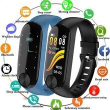 Pulsera inteligente Y10 rastreador de Fitness de presión arterial a prueba de agua banda inteligente ritmo cardíaco Monitor de sueño inteligente reloj de pulsera de moda