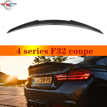 F32 M4 Design Carbon Spoilers for BMW 4 Series F32 420i 428i 435i 440i 2-door 2013+ for bmw f36 carbon rear spoiler m4 style 4 series 4 door gran coupe carbon spoiler 2014 2015 2016 up 420i 420d 428i 435i