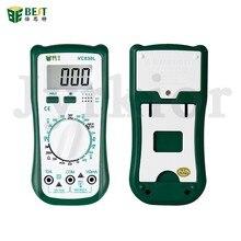 BST-VC830L Многофункциональный цифровой мультиметр конденсатор с алюминиевой крышкой, сопротивление индуктивности измерительный Инструмент э...