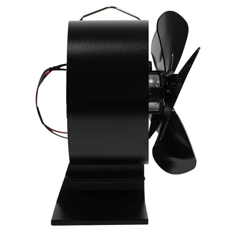 Home Stove Fan Heat Efficient Powered Distribution Circulating Air Log Wood Double Motor Burner Fireplace Accessories