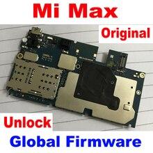 Originele Unlock Beste Werken Moederbord Elektronische Panel Moederbord flex Circuits Vergoeding Kabel Voor Xiao mi mi max global Firmware