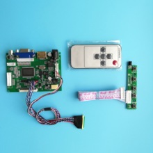 цена на For 1366×768 LP125WH2 12.5inch LCD Screen LED panel display HDMI VGA 2AV LCD remote Controller Board kit Work