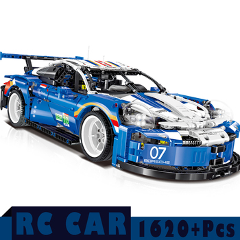 1:10 City Racing Car Blcosk Remote Control Technic RC Car Electric Truck Building Blocks Bricks Toys For Children Gifts