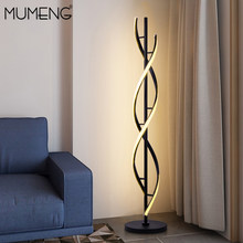 Mumeng Nordic Floor Lamps For Living Room Modern Simplicity Bedside Bedroom Standing LED Table Light Lamp Home Decoration Linear