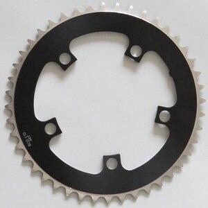 Image 4 - TRUYOU zincir tekerlek yol bisiklet parçaları aynakol katlanır bisiklet aynakol 110 BCD 34T 36T 39T 42T 44T 46T 48T 50T 52T 53T dişli disk