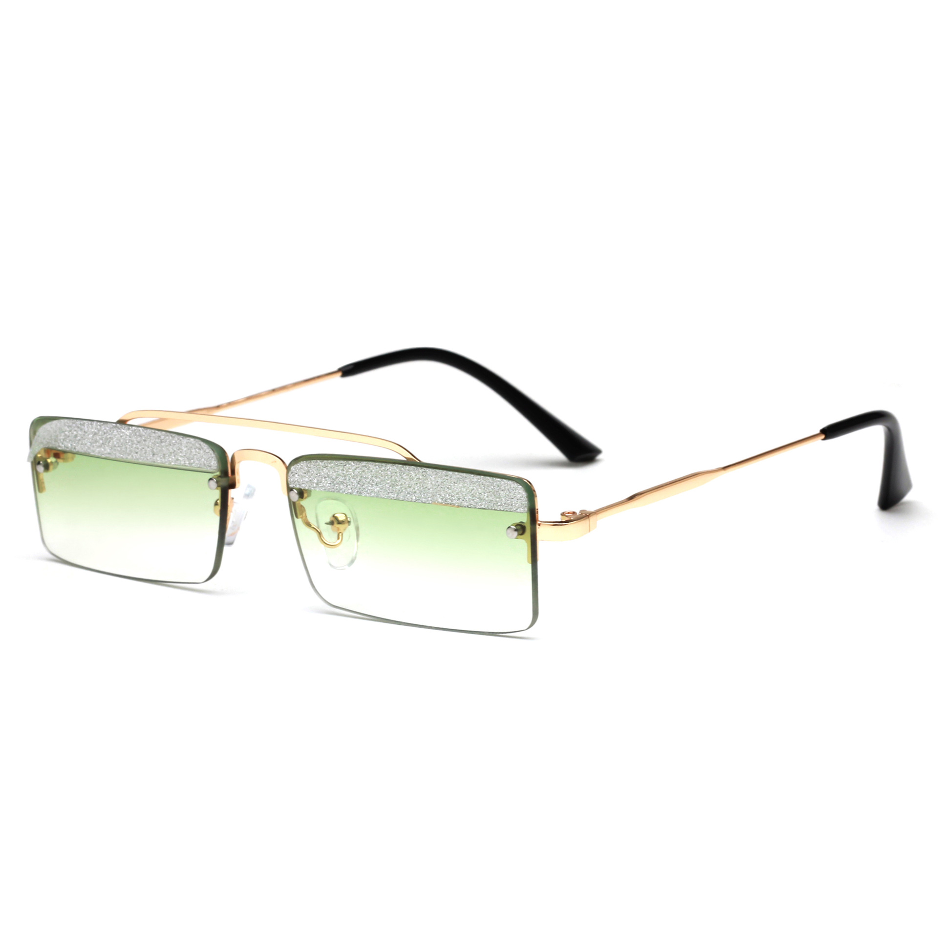 Ololo ou 1877 cross-border sun glasses European and American-style cool eyebrows small box glasses WOMEN'S <font><b>sunglasses</b></font> image
