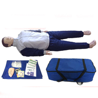 Simulador de ressuscitação cardiopulmonar respiração artificial primeiros socorros cpr pressionando modelo de treinamento de ensino|Ciência médica| |  -
