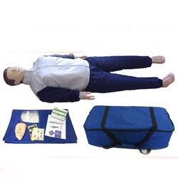 Simulador de resucitación cardiopolar respiración artificial Primeros Auxilios CPR modelo de entrenamiento de enseñanza de presión