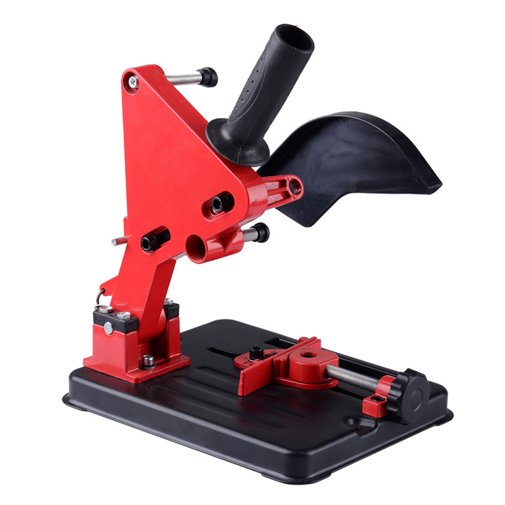 Stable Cutter Bracket Angle Grinder Support Conversion Tool Holder Stand Base Adjustable Multifunction For 100-125 Accessory