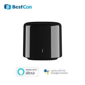 Image 4 - Broadlink RM4 PRO Wifi RF IR Intelligente Telecomando Universale BestCon RM4C Mini IR Telecomando Universale HTS2 Vocale Sensore di Alexa