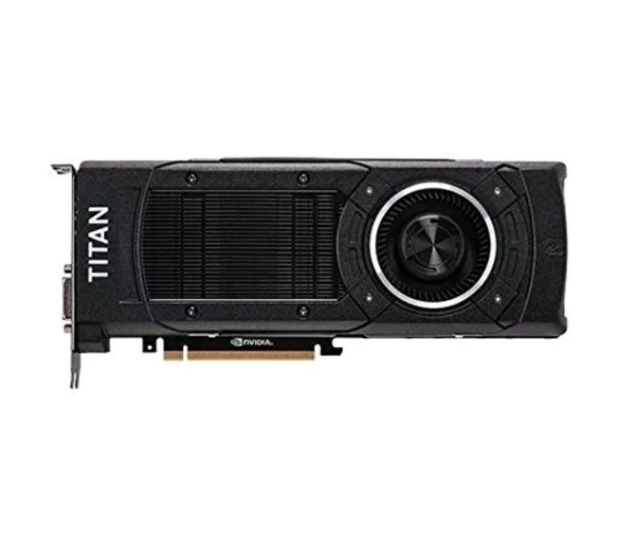 Original NVIDIA GTX TITAN X Titan X 12GB DDR5 high-end gaming deep learning graphics 4K graphics image