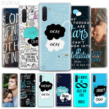The Fault In Our Stars okay Phone Case for Samsung Galaxy Note 10 Plus Note 8 9 S10 S9 Plus S10e A30 A40 A50 A70 Hard Cover(China)