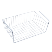 Storage Space Under Shelf Basket For Shelf Bibliotheque Placard Kitchen   Silver-in Schwämme & Scheuerschwämme aus Heim und Garten bei
