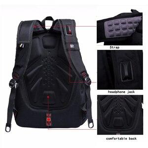 Image 3 - Magic union mochila de viagem para homens, mochila masculina de viagem impermeável feita em poliéster à prova de furtos com espaço para laptop