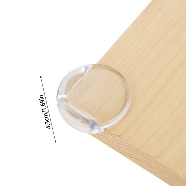5 pcs Baby Safety Silicone Protector Table Corner Edge Protection Cover Children Anticollision Edge Child Corner Guards 6