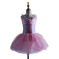 Manufacturers Selling Rural Long Strap Princess Veil Ballet Skirt Yellow Uniforms Stage Professional Tutu Adult Dance Costumes