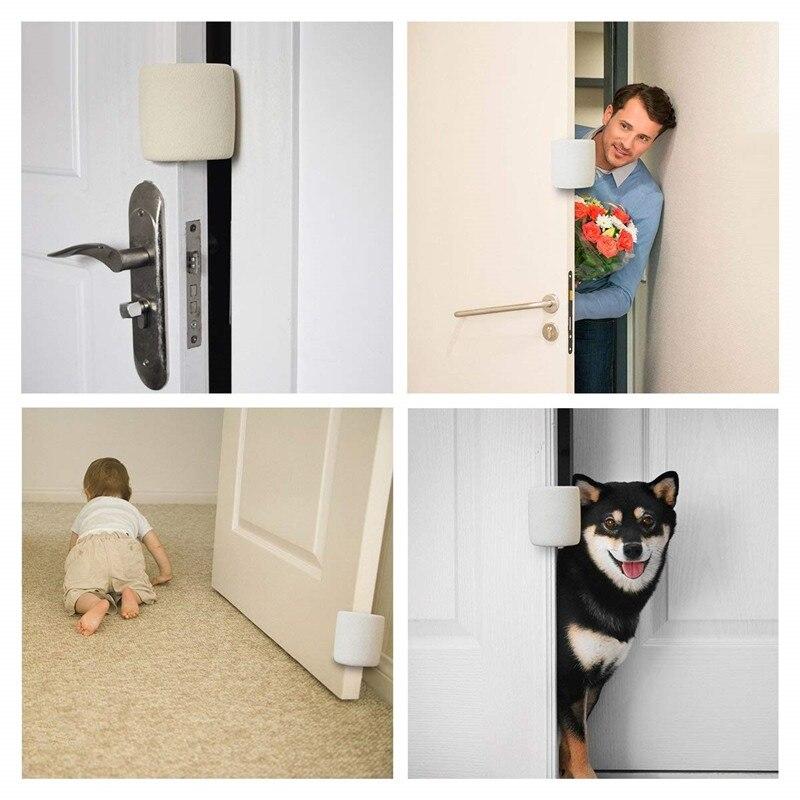 Household Child Safety Door Stopper Finger Jammed Guard Practical Soft Anti-Grip Door Slam Bumper For Baby