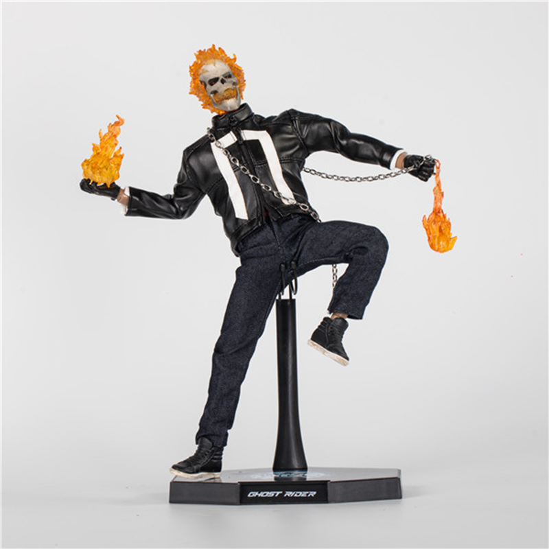 NEW Spot 1/6 Ghost Rider 2017 Johnny Blaze Movable Action Figure Collectible Full Set Figure Doll Toys For Collection