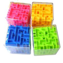 Toys Cubos Game Speed-Cube Maze Puzzle Six-Sided Transparent 3D for Children Educational