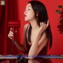 Mijia ShowSee Anion asciugacapelli 1800W temperatura costante cura dei capelli diffusore per asciugacapelli portatile ad asciugatura rapida professionale