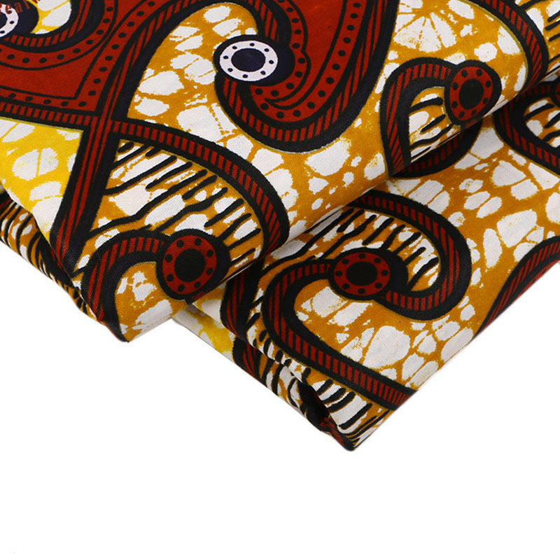 2019 Dutch Wax High Quality 100 Cotton African Fabric African Pagne Olandese Wax Java