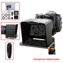 Teleprompter dành cho Xiaomi iPhone Samsung Huawei Phone dành cho Điện Thoại Sony Canon Nikon DSLR Camera Video Phỏng Vấn Teleprompter Điện Thoại Thông Minh