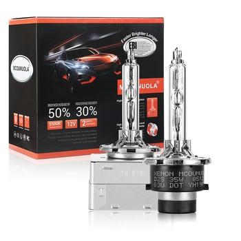 цена на 2PCS NEW OEM 35W D1S D2S D2R D3S D4S D4R Xenon HID Bulb 4300K 4500K 5000K 5500K 6000K 8000K HID Xenon Lamp D2S Xenon Bulb