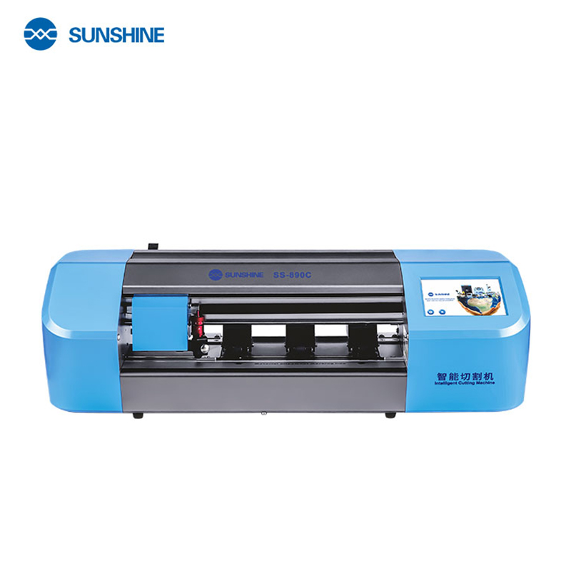 SUNSHINE SS-890C Intelligent Cutting Machine , Protect Film Protective Tape Cut Tool