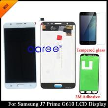 Lcd scherm Originele Voor Samsung J7 Prime G610 Lcd Voor Samsung J7 Prime G610F Scherm Lcd Touch Digitizer Vergadering
