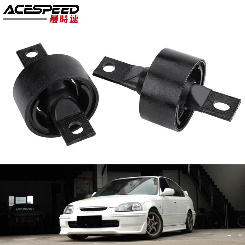 รถผลกำไรในรอบแขนแขนสำหรับ Honda Civic EK3 CR-V CRX Del Sol Acura 52385-SR3-000 เหล็กสีดำรถอุปกรณ์เสริม