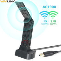 Wavlink AC1900 Dual Band USB 3.0 Adapter 5Ghz 1900mbps Wifi Antenna Dongle 2.4G 802.11AC wi fi receiver Wireless Network Adapter