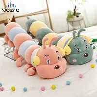 VOZRO гусеница ворс игрушки мягкие влюбленные червь детский подарок Almofada Coussin Cojines сиденье Подушка Декоративные Подушки