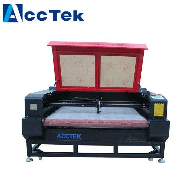 Hot Sale Auto Feeding Fabric Garment Textile Laser Multi-head Cutting Machine AKJ1610