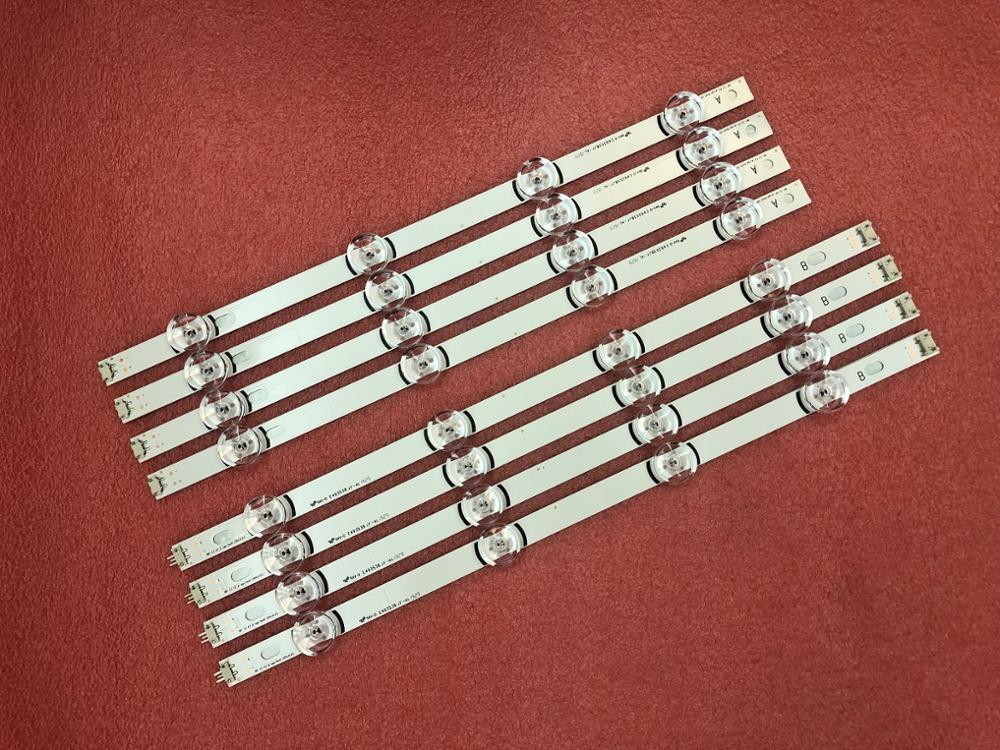 New Kit 8pcs LED Backlight Strips For LG 42LB5800 42LB5700 42LF5610 42LF580V DRT 3.0 42 Inch A/B 6916L-1709B 1710B 1709C 1710C