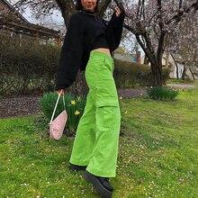 Джоггеры женские с широкими штанинами милые мешковатые брюки