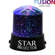 Starry Sky LED Lamp star LED night lights Colorful projector night lamp Flashing Star lamp children #8217 s night light for home decor cheap oobest Atmosphere starry sky lamp Holiday 0-5W LED Bulbs Always On night light projector black pink purple blue pp + electronic components