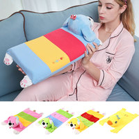 Dog Duck Soft Comfortable Cute Baby Memory Pillowcase Kids Toy Doll Newborn Pillow Cover Household Toddler Bed Supplies|Fronha| |  -