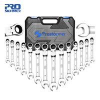 14Pcs Hand Tool Set Keys Kit Multitool Ratchet Spanners Wrench General Combination Tool Set Car Repair Tools By PROSTORMER