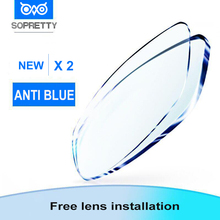 Prescription Lenses Astigmatism Anti-Blue-Light Myopia Photochromic Aspheric for Resin