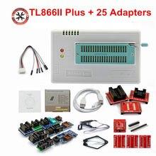Original novo tl866ii plus tl866 atualizado minipro universal alta velocidade usb programador alto desempenho 100%
