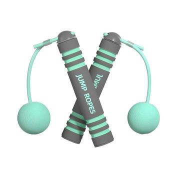2021 bezprzewodowy pomijanie dla Fitness bez splotów prędkość bezprzewodowy pomijanie Unisex przenośny sprzęt ffiction Skip Rope tanie i dobre opinie Damsko-męskie CN (pochodzenie) 20201104 Pojedyncza skakanka Non-woven Fabrics 2 5 m (osobowych) Ciało 1 Pair of Skipping