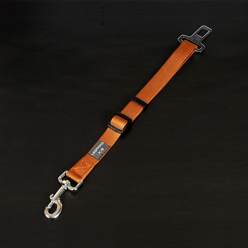 Adjustable Car Safety Belt For Pet Seat Retractable Dog Hand Holding Rope Nylon Pet Supplies