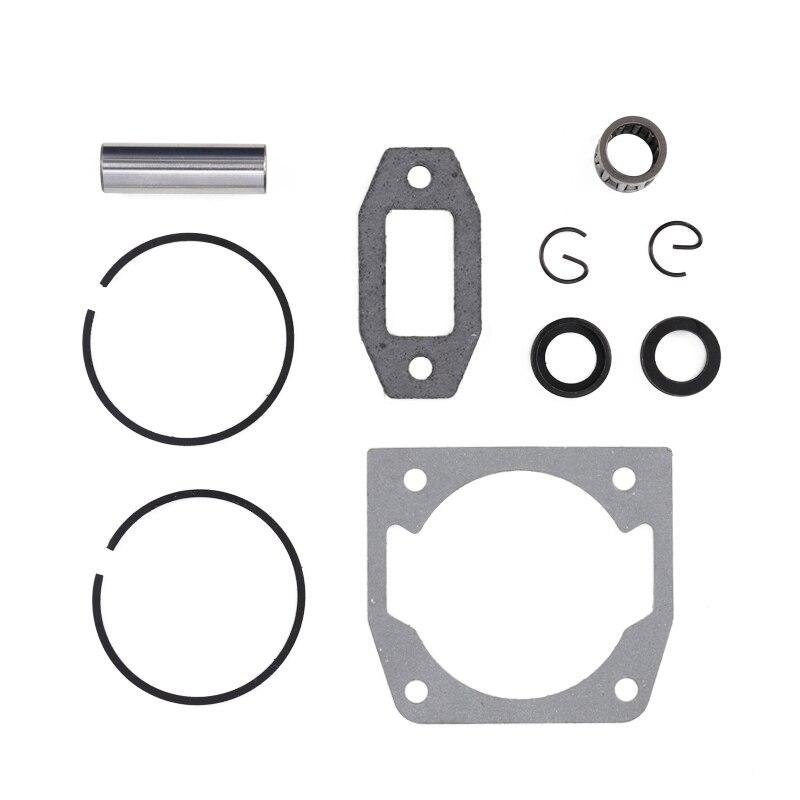 Hot DealsPiston-Set Chainsaw-Cylinder 52cc Gasoline/Oil 1set-Diameter 45mm Fit And