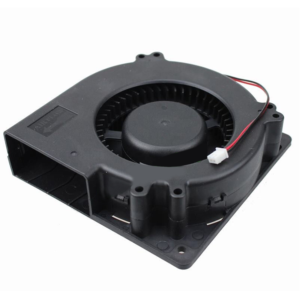 12cm DC Big Airflow Brushless Blower Cooling Fan 12V 120*120*32mm 12032S 2Pin-XH2.54 Connector 12032s-12V Brushless DC Fan