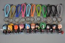 Брелок для ключей «Наруто» мужчин и женщин пластиковая мультяшная