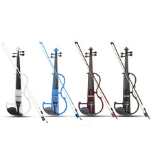 4/4 Original Sound Violin Linde Panel Stringed Instrument Violin and Violin Autumn Bow Headphones Resin Aluminum Alloy Strings цена и фото