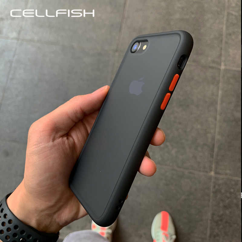 Cao Cấp Silicone Chống Sốc Dành Cho iPhone 11 Pro 11Pro XS Max XR Trong Cho iPhone 7 8 Plus 7Plus 8 Plus IPhoneX Coque