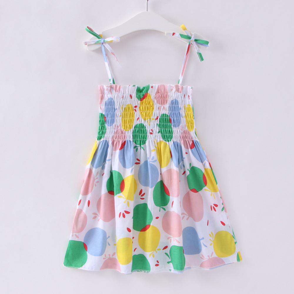 Kids Dresses for Girls Summer Girl Sleeveless Dress Toddler Flower Print Princess Dress 1 2 3 Kids Dresses for Girls Summer Girl Sleeveless Dress Toddler Flower Print Princess Dress 1 2 3 4 5 6 7 Years Children's Clothing