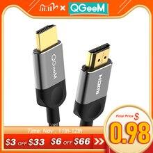 HDMI كابل HDMI إلى HDMI 2.0 4k 3D كابل ل HDTV كمبيوتر محمول LCD PS3 الفاصل switcer العارض الكمبيوتر كابل 1m 2m 3m 5m كابل HDMI